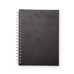 Caderno de Couro Sintético Personalizado - 24,3 x 18,4 cm