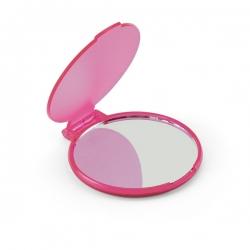 Espelho Plástico Personalizado Rosa