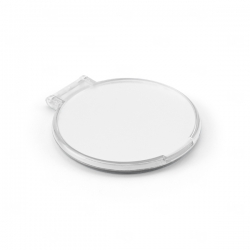 Espelho Plástico Personalizado Branco