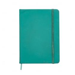 Caderno tipo Moleskine Personalizado - 18,3 x 13,4 cm