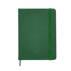 Caderno tipo Moleskine Personalizado - 18,3 x 13,4 cm Verde