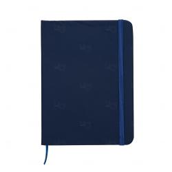 Caderno tipo Moleskine Personalizado - 18,3 x 13,4 cm Azul