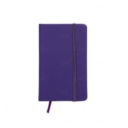 Cadern Moleskine Personalizado - 12,8 x 7,7 cm Roxo