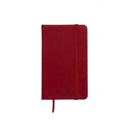 Cadern Moleskine Personalizado - 12,8 x 7,7 cm Vermelho