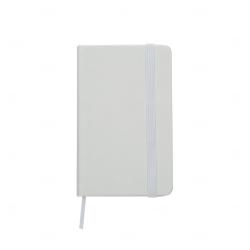 Cadern Moleskine Personalizado - 12,8 x 7,7 cm Branco