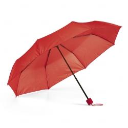 Guarda-Chuva Dobrável Personalizado Vermelho