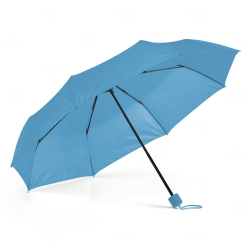 Guarda-Chuva Dobrável Personalizado Azul Claro