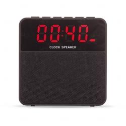 Caixa de Som Bluetooth com Relógio Digital Personalizada