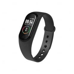 Relógio Smartband Black Pearl 4 Personalizado Preto