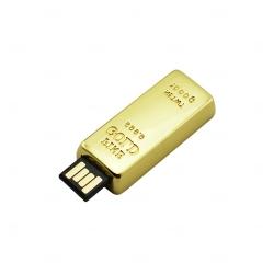 Pen Drive Gold Personalizado - 4GB