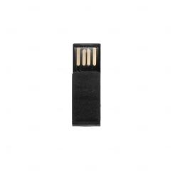 Mini Pen Drive Clips  Personalizado - 4GB Preto