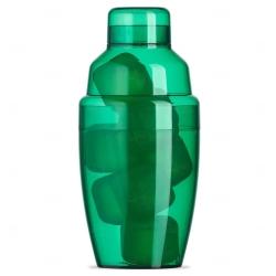 Coqueteleira Plástica C/ Gelo Ecológico Personalizada - 230ml Verde