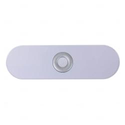 Caixa de Som Bluetooth Personalizada Prata