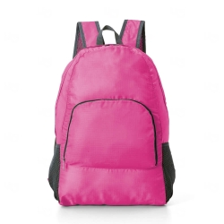 Mochila Dobrável Personalizada Rosa Pink