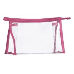 Necessaire Plástica Personalizada Rosa Pink