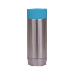 Copo Inox Personalizado - 420ml Azul
