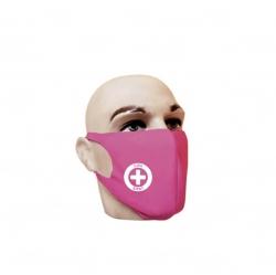 Máscara Reutilizável Personalizada Rosa