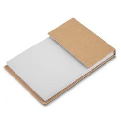 Bloco de Anotações com Autoadesivos Personalizado - 15,2 x 10,1cm Kraft