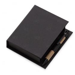 Bloco de Anotações Personalizado - 11,7 x 10,5 cm Preto