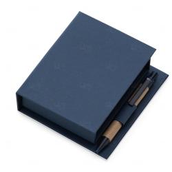 Bloco de Anotações Personalizado - 11,7 x 10,5 cm Azul