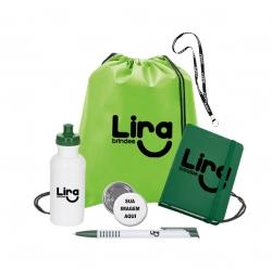 Kit Welcome Back Personalizado - 6 Peças Verde