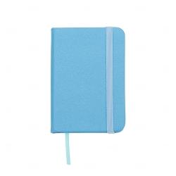 Mini Caderneta Tipo Moleskine Personalizada - 10,5 x 7,4 cm