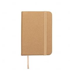 Mini Caderneta Tipo Moleskine Personalizada - 10,5 x 7,4 cm Dourado