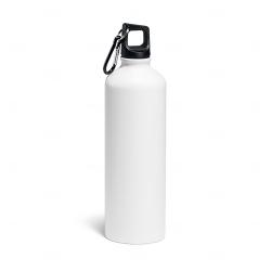 Garrafa de Alumínio Personalizada - 800 ml Branco