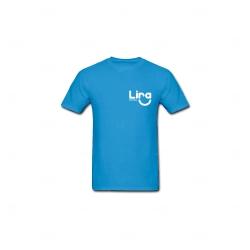 Camiseta Algodão Personalizada Azul