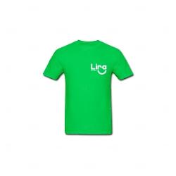 Camiseta Algodão Personalizada Verde