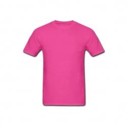 Camiseta Algodão Personalizada Rosa