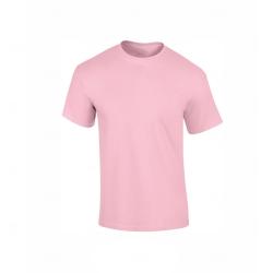 Camiseta Algodão Personalizada Rosa Claro