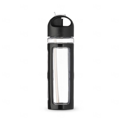Squeeze Personalizada  Plástico - 700ml Preto