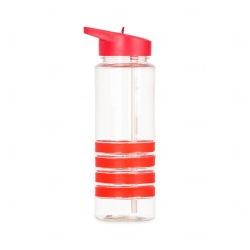 Squeeze Plástico Personalizada - 750ml Vermelho