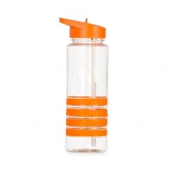 Squeeze Plástico Personalizada - 750ml Laranja