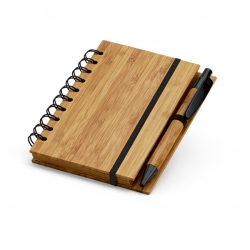 Caderno Bambu Personalizado - 14,8 x 10,5 cm