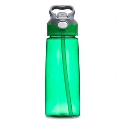 Squeeze Plástica Personalizada - 650ml Verde
