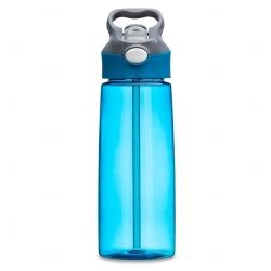 Squeeze Plástica Personalizada - 650ml Azul Claro