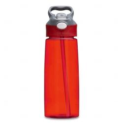 Squeeze Plástica Personalizada - 650ml Vermelho