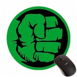 Mouse Pad de EVA Redondo 100% Personalizado Verde