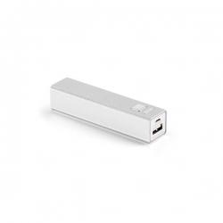 Bateria Portátil Personalizada - 2.600 mAh Branco
