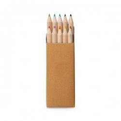 Caixa Com 10 mini Lápis Personalizado