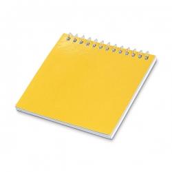 Caderno Para Colorir Personalizado - 9 x 9 cm Amarelo