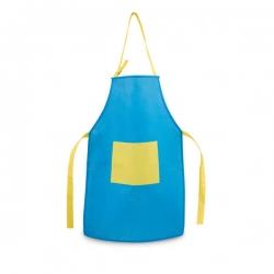 Avental Para Criança Personalizado Azul