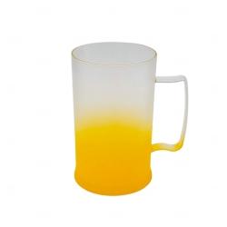 Caneca Personalizada  de Chopp Degrade - 500 ml Amarelo