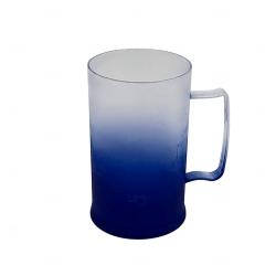 Caneca Personalizada  de Chopp Degrade - 500 ml Azul Marinho