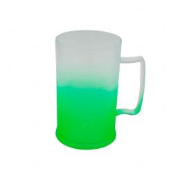 Caneca Personalizada  de Chopp Degrade - 500 ml Verde