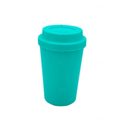 Copo de Café e Chá Personalizado - 300 ml Azul Claro
