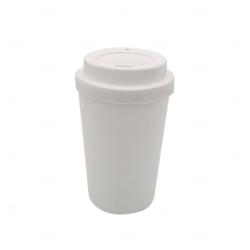 Copo de Café e Chá Personalizado - 300 ml Branco
