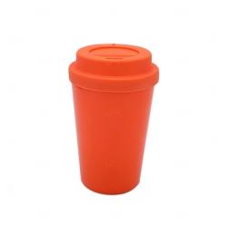 Copo de Café e Chá Personalizado - 300 ml Laranja